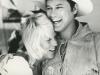 Larry Hagman and his wife Maj